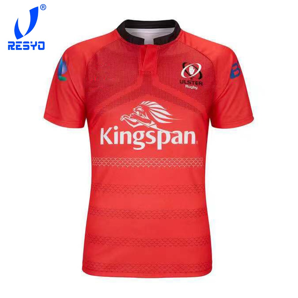 31a661fc4b9 RESYO 2019 newest Rugby clothes North Ireland ULSTER Irish rugby jerseys  rugby shirt football shrit-in Rugby Jerseys from Sports & Entertainment on  ...