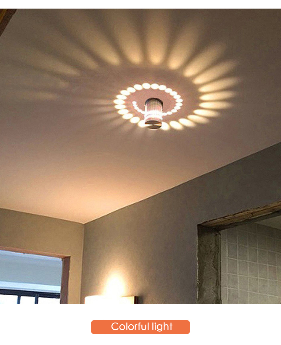 Modern Led Lamp Ceiling Light Wall Art Gallery Decoration Front Balcony Porch Ebay