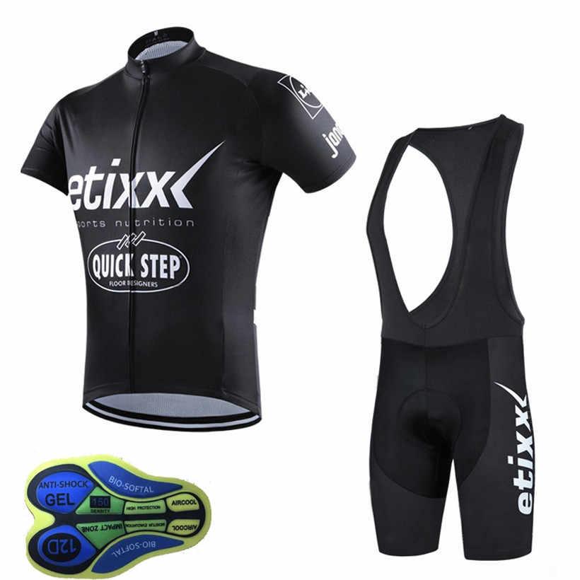 Pro Team quickstep 2018 Cycling Jersey Sportwear MTB bike clothing maillot  Ropa uniformes Ciclismo hombre bib 9c90ebc89