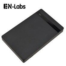 En-Labs USB 3.0 жесткий диск корпус w/UASP, портативный инструмент Бесплатная 2.5 дюймов HDD/SSD SATA USB Внешние запоминающие устройства Box Дело