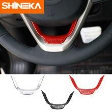 Декоративные наклейки на руль shineka для jeep cherokee /grand