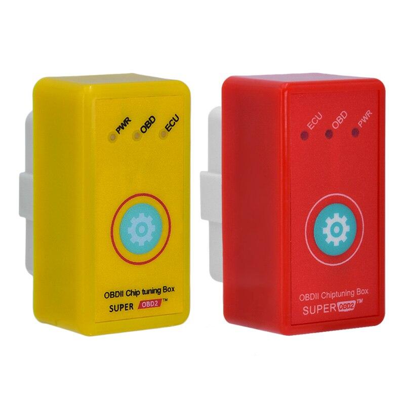 Супер OBD2 Мощность PROG более Мощность крутящий момент, чем Nitro OBD чип тюнинг коробка для автомобиль с кнопка сброса plug и привода