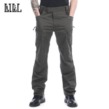 Hi-Q Military Tactical Pants IX7 Men Pure Cotton Cargo Pants With Pockets Men's Classic Army Style Trousers Multifunction,UA116