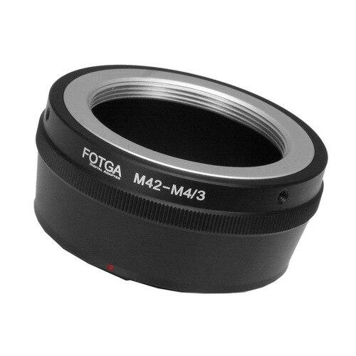 Adaptateur d'objectif Fotga bague d'adaptation de haute qualité pour objectif M42 vers Micro caméra de montage 4/3 pour appareil photo reflex numérique Olympus Panasonic