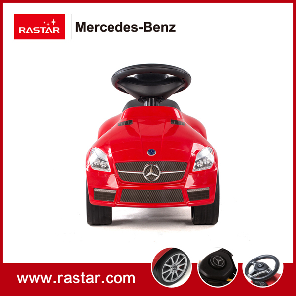 Rastar licensed car four wheels with chassis Mercedes Benz SLK 55 AMG Foot to Floor car with horn 82300 Christmas