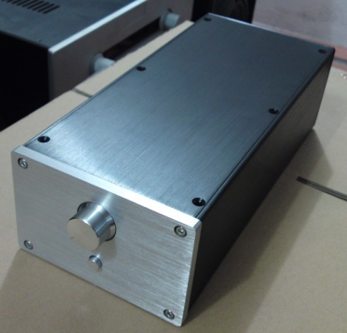 Breeze Audio-Full aluminum mini Power amplifier Case /Box Diy Amp enclosure
