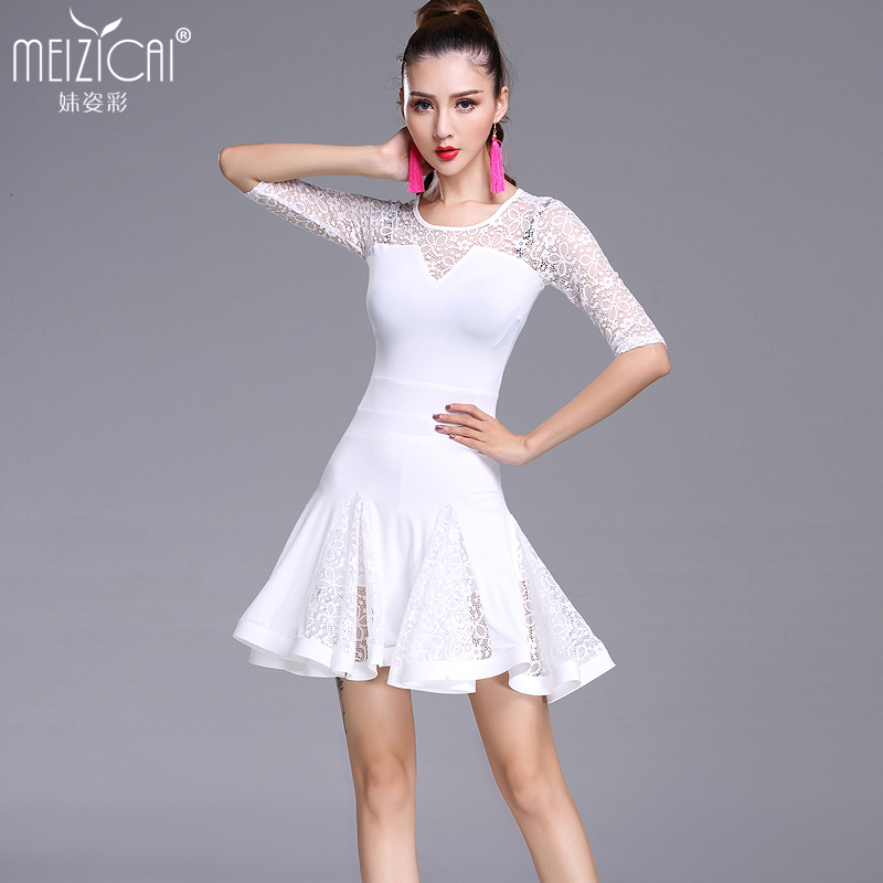 New Latin dance costumes women tango salsa rumba modern dance dress latin dancing clothes Dancewear M, L, XL alcosafe kx 1300