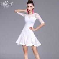 Nuovi costumi di danza delle donne Latino tango salsa rumba moderna vestito da ballo abiti da ballo latino Dancewear M, L, XL
