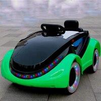Специальная цена Dual drive младенческой Дети электромобиль четыре колеса дистанционного управления автомобилем может сидеть людей качели дет