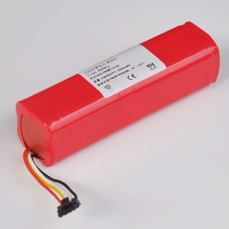 14.8 v Li-ion Rechargeable Cellule de Batterie Pack 5200 mah 14.4 v Aspirateur Robot de Balayage pour Xiaomi Pierre série