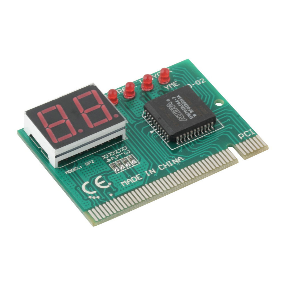 In Stock! New PC Diagnostic 2-digit Pci Card Motherboard Tester Analyzer Post Code For Computer PC Newest