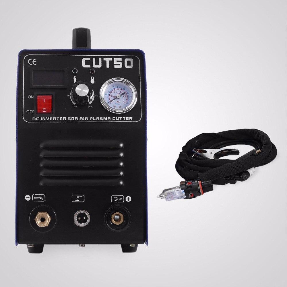 50 ampères ont évalué la Machine de soudure numérique d'inverseur de CUT50 de soudure de bâton de Tig du coupeur 50A de Plasma de courant de sortie (coupeur de Plasma de 50A)