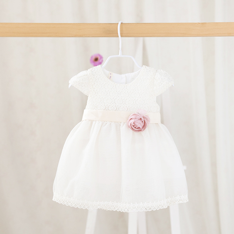 2016 summer new childrens clothing wholesale Sweet Princess Dress Girls clothesof cute children dress for baby girls