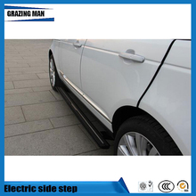 High quality aluminium alloy side step running board Electric pedal for Range Rover vogue 2013 - 2016