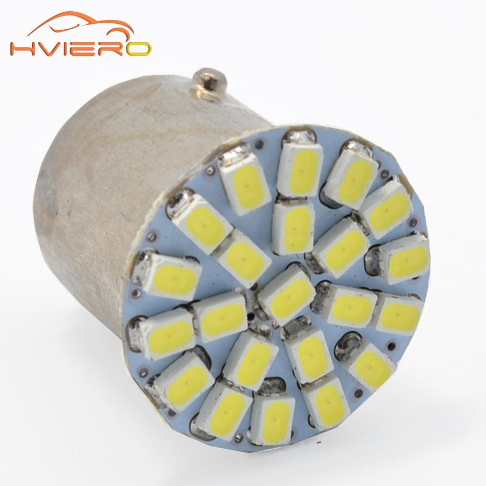 1156 BA15S 1157 BA15D P21W 1206 3020 22SMD White Car LED Brake Turn Light Auto mobile Wedge Lamp Tail Bulb Super Bright DC 12V цена и фото