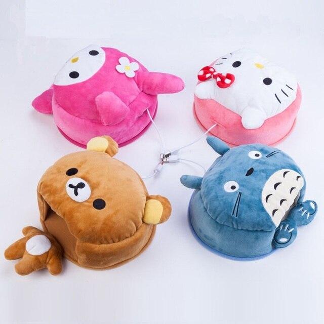 FULCLOUD, прекрасный теплый коврик для мыши с изображением животных из мультфильмов, USB соединение, бесплатная доставка