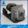With housing compatible projector lamp NP10LP for  NP100 NP100+ NP100G NP101 NP101G NP200 NP200+  NP200G NP201 NP201G