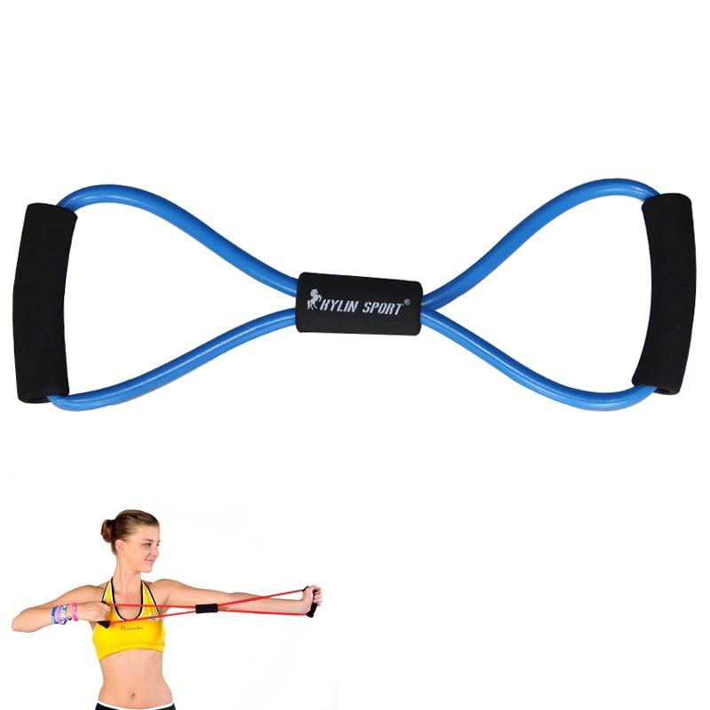 neues Fitnesstraining Abbildung 8 Typ Hand Gripper Stärken Übungsrohr Yoga blau für Großhandel Kylin Sport