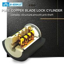 INBIKE Bike Cable Lock 0.85m Waterproof Anti-theft Bicycle Lock with 3 Keys CB106