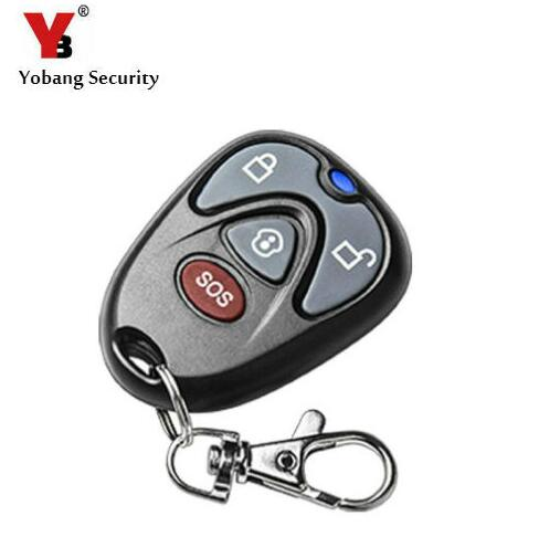 Yobang Security 433Mhz Wireless Remote Controller for G90B Portable Remote Control For IOS Android APP WIFI GSM Wireless alarm