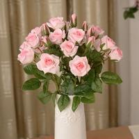 Это занимает 1 3 моделирование 4 Роза Бутон розы цветы любовник роза свадебный подарок Шелковый цветок украшения искусственные цветы дешевы...
