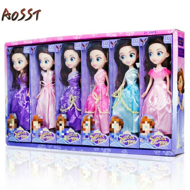 28 Cm Fashion Dolls Verward Poppen Meisjes Speelgoed Geschenken Kleuterscholen Inkoop Gift Box Sets Model Bruiloft Human Vorm Dolly Diy Up-To-Date Styling