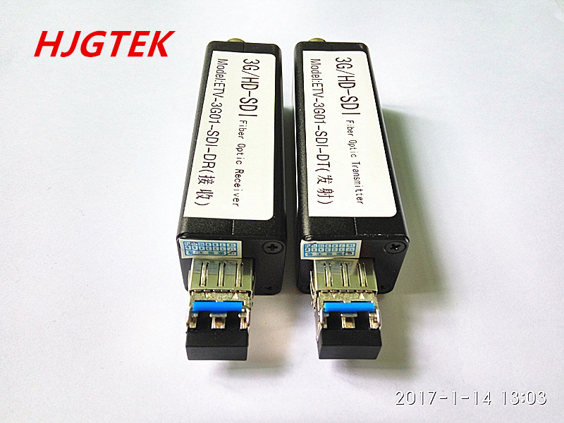 3G SDI оптический мини SDI видео к оптоволоконному трансиверу 1080 P @ 60 Гц одномодовый LC порт