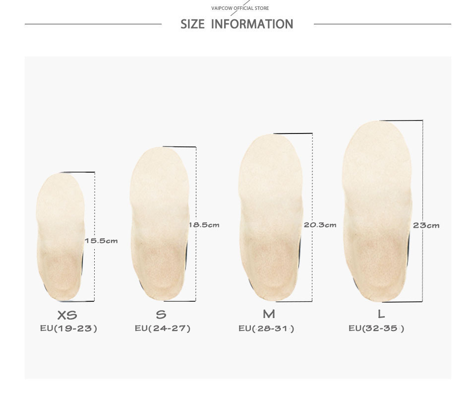 Children\`s flat foot orthopedic insole XB1 (6)