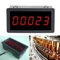 Светодиодный панельный счетчик  красный  5 цифр  12-24 В постоянного тока  0 56