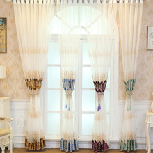 2019 Modern Luxury Embroidered Sheer Voile Curtains Window Drapes for Living Room Door  Bedroom Kitchen Tulle Windows Curtains цена и фото