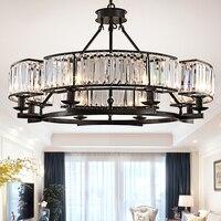 DX crystal chandelier lighting chandelier modern cristal crystal chandeliers living room bedroom lamp