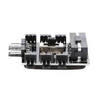 PC IDE Molex 1 To 8 Way Splitter Cooling Fan Hub 3 Pin 12V Power Socket PCB Adapter
