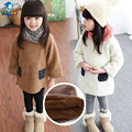 TUTUYU Children Girls Long Sweater Kids Casual Warm Long Pullover Sweater Autumn Winter Teenage Female Knitte Clothes D033