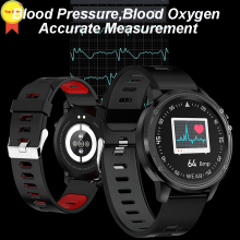 где купить ECG smart watch 1.2 full round screen Blood Oxygen Blood Pressure Heart Rate IP68 Waterproof Smart Bracelet Bluetooth Smartwatch дешево