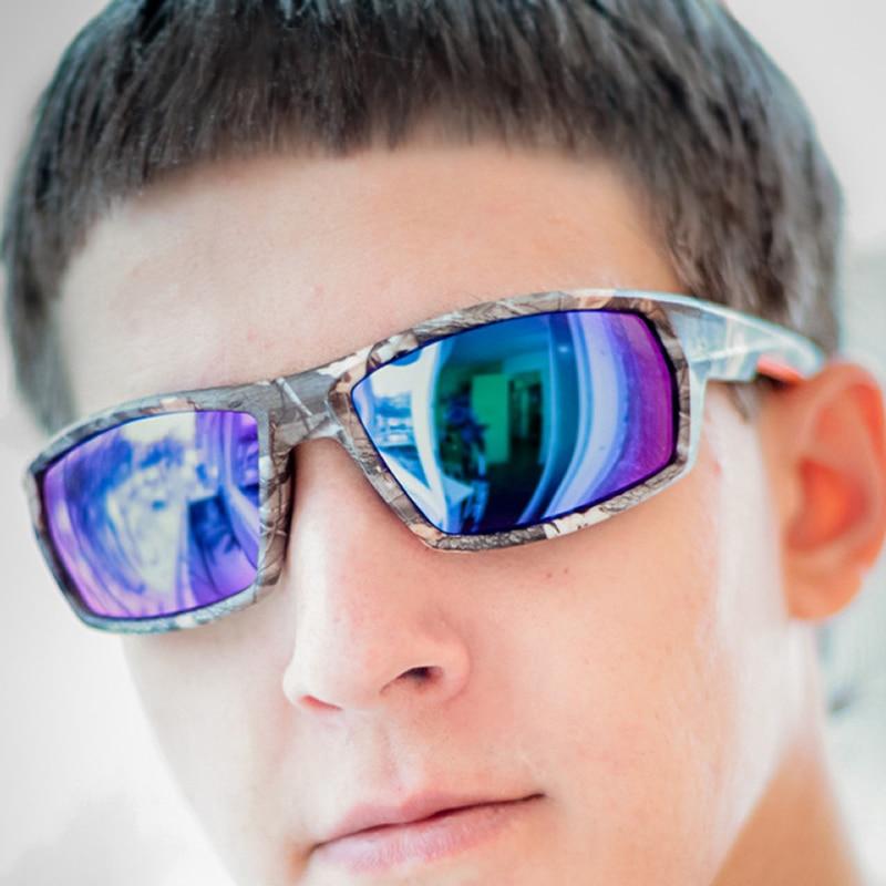 61fe89104c1 POLARSNOW Top Quality Brand Camo Frame Sun Glasses Polarized Lens Men  Fishing Sports Sunglasses Goggle UV400 Eyewear-in Sunglasses from Men s  Clothing ...