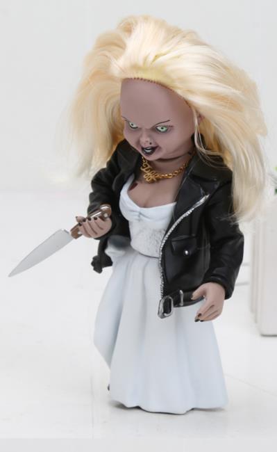 15cm NECA buona ragazzi Gioco da ragazzi Spaventoso Sposa di Chucky 1/10 Scala Horror Bambola Chucky PVC elsadou neca chucky action figurs child s play doll with retail box 15cm