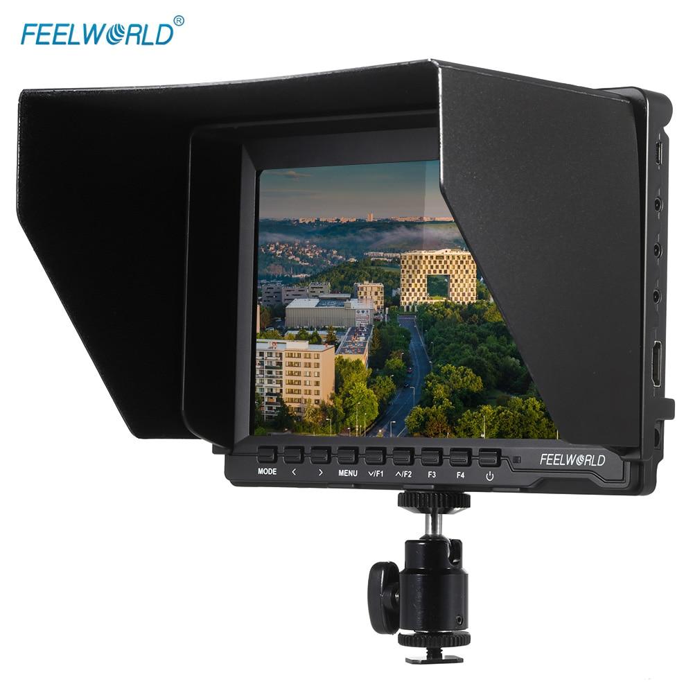 Feelworld fw74k 7 inch ultra hd 1280 800 ips lcd screen for Photo moniteur