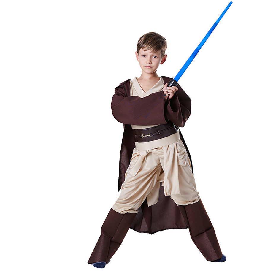 Star Wars Costume Child Role Playing Jedi Knight Fantasy Comic Movie Carnival Party Purim Halloween