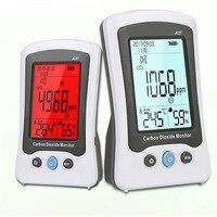 Газовый анализатор детектор углекислого газа CO2 монитор термометр гигрометр Температура измеритель влажности Портативный цифровой газа Т