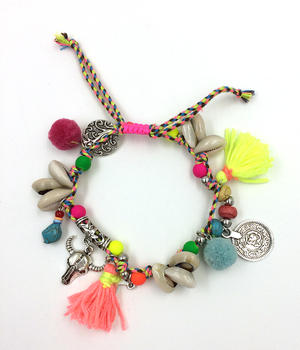 New BAREFOOT SANDALS Boho Sea Beach Bohemian Anklet Hippie Style Ankle Bracelet Handmade Gypsy Ethnic Anklet 1