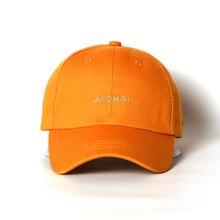 Aloha Cotton Baseball Cap Boy Girl Snapback Caps Men Women Hip Hop Hats Purple Yellow 5 Colors