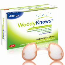 WoodyKnows Super Defense Neusfilters (1e generatie), Pollen Allergy Dust Allergieën Relief, Neusmaskers voor luchtvervuiling Hepa