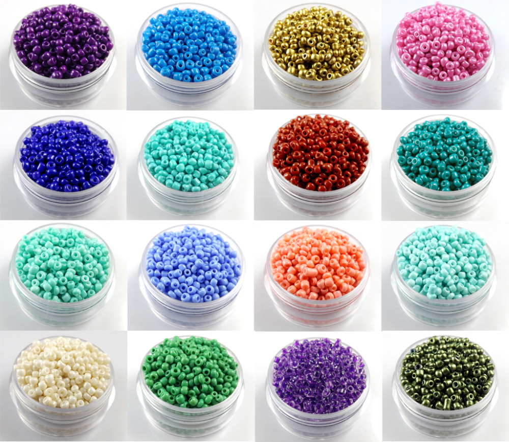 Wholesale 300pcs 4mm Czech Glass Seed Spacer Beads Jewelry Making Diy U Pick Beads