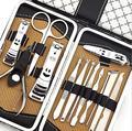 13-in-1 man women nail scissors kit nail clipper cutter trimmer cuticle nipper set manicure nail art tools