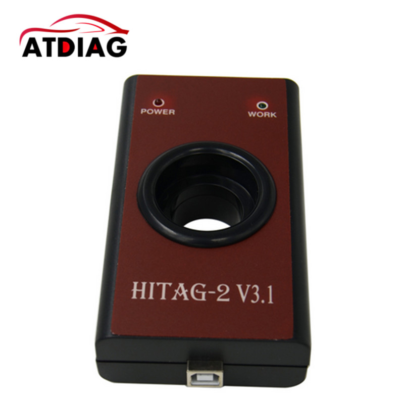 HiTag2 transponders programmer Hitag2 V3.1 Hitag 2 Key Programmer Hitag-2 Key Tool V3.1 free shipping hitag 2 v3.1 programmer hitag2 transponders programmer hot sale diagnostic tool auto code reader fault reader car accessories free shipping