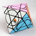 Venus 57mm 3x3x3 Louco MF8 Octahedron Velocidade de Puzzle Magic Cube Brinquedos Educativos para Crianças dos miúdos
