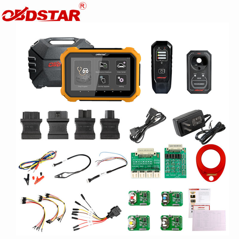 OBDSTAR X300 DP PIÙ X300DP PIÙ C Cornici e articoli da esposizione Versione Completa 8 pollici Tablet Supporto di Programmazione ECU e per Toyota Astuto chiave Con P001