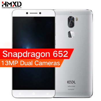 Original leeco cool 1 Coolpad letv cool1 4G LTE Mobile phone Snapdragon 652 Octa Core 5.5″ FHD 3G/ 4G 32G 13MP Dual Back Cameras