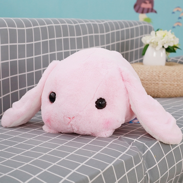 Rabbit Dolls Plush Classical Lying Bunny Rabbit Toy Amuse Lolita Loppy rabbit Kawaii Plush Pillow for Kids Friend Girls 1