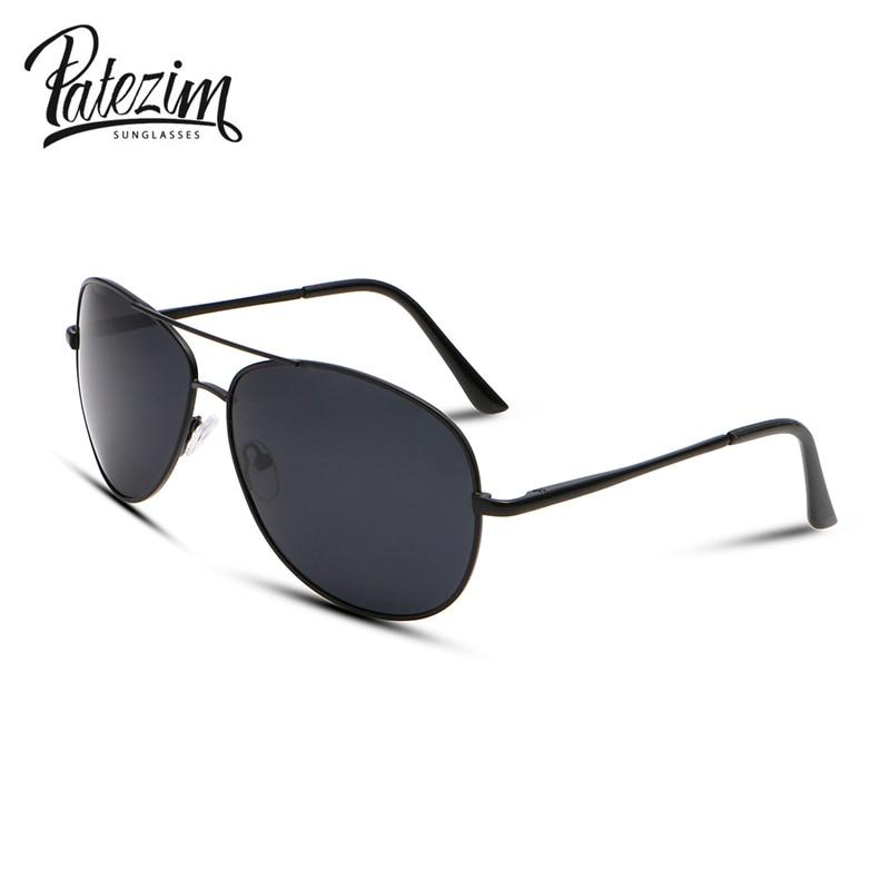 dd24eb062d40d 2017 New Mode Polarisées lunettes de Soleil Aviateur Hommes Out Door  Revêtement lunettes de Soleil Anit UV400 Oculos de sol